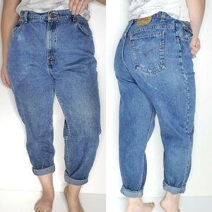 Vintage Levi's Orange Label Jeans 950 High Rise